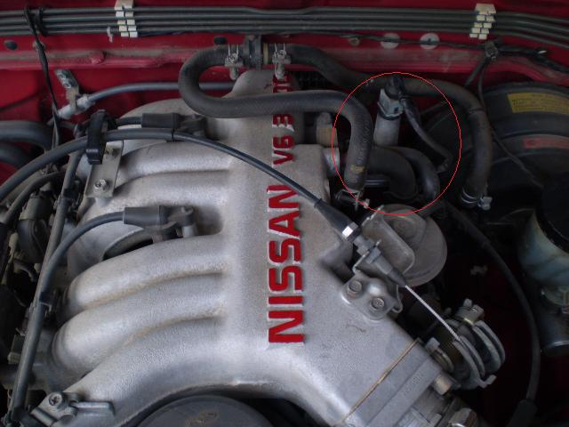 Where Is The Iacv Located On A 1992 Nissan Pathfinder Xe