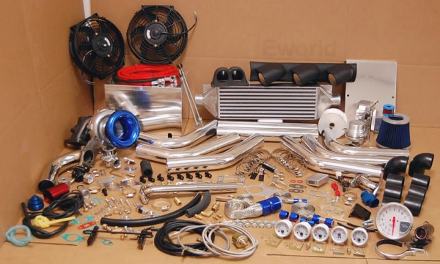 Pontiac G8 Turbo Kit on EBay